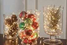 Home decor new year and christmas