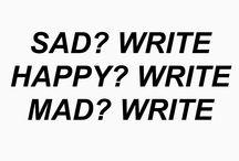 Writer inspo