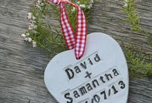 Wedding Gifts / Lovingly handmade ceramic gifts for weddings.