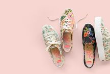 Keds x Rifle Paper Co. / Shop the sneakers and the Rifle Paper Co. products that inspired the collaboration!