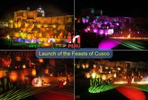 Launch of the Feasts of Cusco 2016 / Ancient fire ritual was staged to begin the Festivities of Cusco and the Inti Raymi 2016.  More than 200 actors on stage gave life to the ancient Inca ritual called 'Willqa Nina' the same that was staged in the Temple of the Qorikancha to officially begin with the Feasts of Cusco.