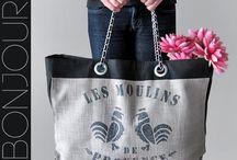 Bag lady  / by Minnie Hunt