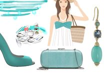 Summer Fashion / Colors and fashion inspired by summer
