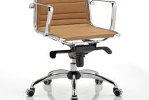 FLY / Presidential and executive chair with completely upholstered backrest and seat. Synchron multiblock mechanism, with adjustable tension and antishock backrest return system. Fixed aluminium armrests. Chrome steel base also for cantilever version.