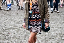 Street Style // Festival Style / Style inspiration from the world's music festivals