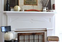 Mantels: Fall / Everyone can use a hefty dose of inspiration! You can use this board to find tons of great ideas for your own Fall Mantel!  Enjoy!