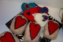 felting / projects that use alpaca fiber - or ones that are really cute and we think would look even better  in alpaca.