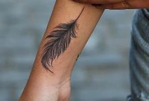 Feather Tattoo Ideas for Women