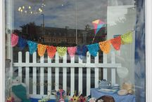Window fun @ A Good Yarn / We take great pride in our window displays at A Good Yarn. We hope you like them too.
