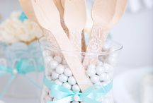 Lace & Pearls- Wedding Shower Theme / Classic Wedding Showers.