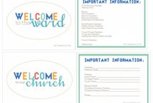Relief society templates