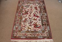 Qum Hunting Persian Rugs | Silk Hunting Persian Carpets / Sample of our collection of pure silk pictorial Qum Hunting Persian rugs. To see all of our newest Qom Hunting Persian carpets, feel free to check out http://www.mprugs.com or keep coming back...