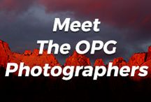 Meet The OPG Photographers / Meet our contributing editors!