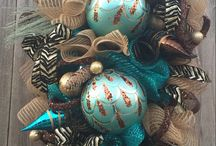 Copper & Teal Christmas