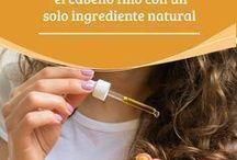 Cabello y aceite de coco
