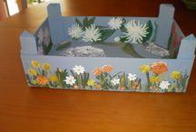 Cajas de fresas / by Ana Garcia Belgrano