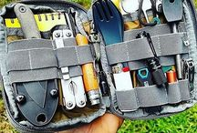 Bushcraft, camping etc