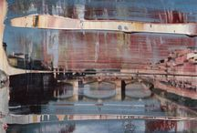 Overpainted photos