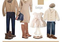 What to wear family - AUTUNNO / Ispirazioni per coordinare gli abiti per una sessione fotografica di famiglia