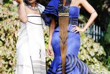 The African bride / Traditional wedding dresses