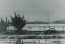 夜中に積もらなくて良かったですね。 It's snow. #snow #landscape #ケサソラ #イマソラ #雪写真