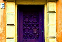 There is just something about doorways....