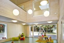 school interior lobby space