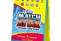 Match Attax 2017 - 2018 / The greatest football trading game is back for the new Premier League season 2017 / 2018,