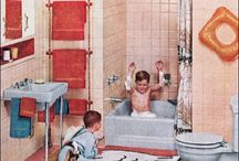 1950s bathrooms / images I have featured and shared on my blog over the past few years.