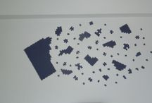 Puzzle on my wall / Violet puzzle, super effect