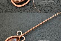 Drôtené šperky/wire jewelry