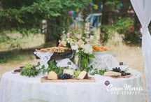 Vintage Country Chic Wedding / A fabulous wedding highlighted with great food, beautiful floral design and perfect mix of country and vintage styling.