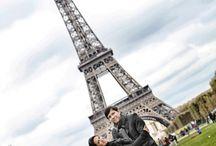 ENSAIO DE CASAL EM PARIS - Casamento / Inspiração para ensaio de casados em Paris.