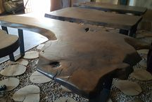 wooden natural table