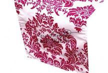 Damask Table Runner for Hire