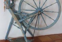 Spinning wheels / Beautiful spinning wheels.