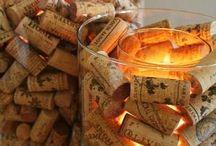Κατασκευές με φελλούς από κρασιά