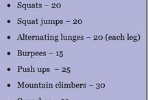 Work out / athletics / by Lauren E