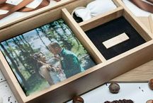 Wooden oak boxes for USB and other accesories.