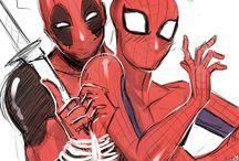 ❤Deadpool × Spiderman❤