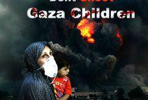 #GAZA / #FREEGAZA,#FREEPALESTINE