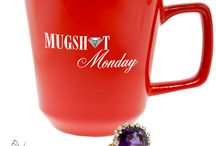 Monarch Jewelry's Mugshot Mondays / Monarch's Mugshot Mondays!  Fun photos local members in the Orlando community posing with coffee mugs while modeling Monarch Jewelry #bling! :)