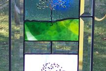 Stain Glass ideas for old window / by Stephanie Carpenter