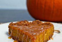 Recipes: Pumpkin! Pumpkin! Pumpkin!  / by H