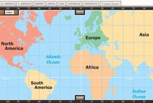 Making Maps with Meaning / With the Interactive Atlas tool students create annotated maps  that explain colonial regions, battles of the civil war, GDP in Africa and more...