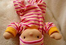 waldorfská panenka pro mé děti