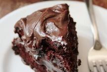 Cake, chocolate cake. Lots of it.