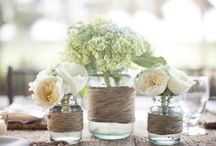 Wedding Decorations / Jars and more jars!