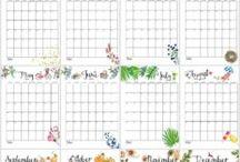 Календари, планеры