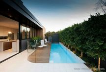Exterior, garage and deck / by PaoYi Tan
